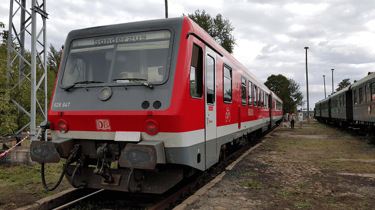 Triebwagen BR 628