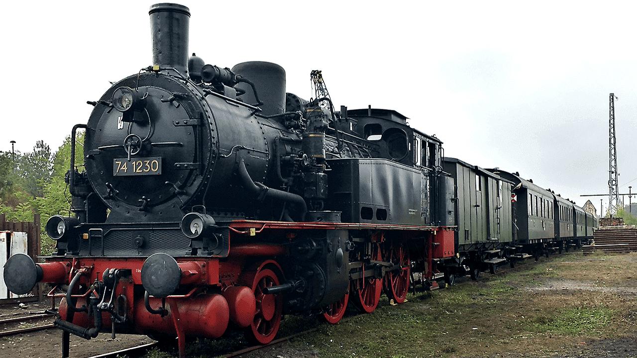 Dampflok BR 74