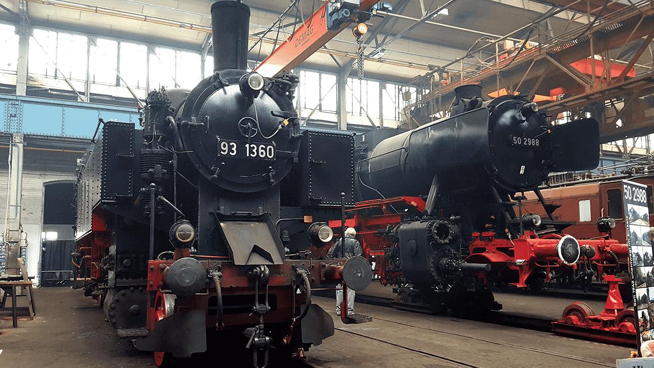 Dampflok BR 93