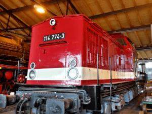 DR Class 114 774 / DR Class V 100