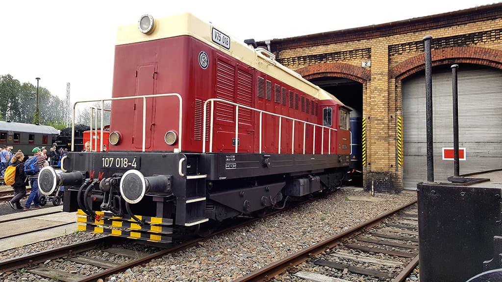 Diesellok BR 107